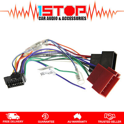 ISO WIRING HARNESS for ALPINE IVE-W560A IVEW560A cable connector lead loom plug
