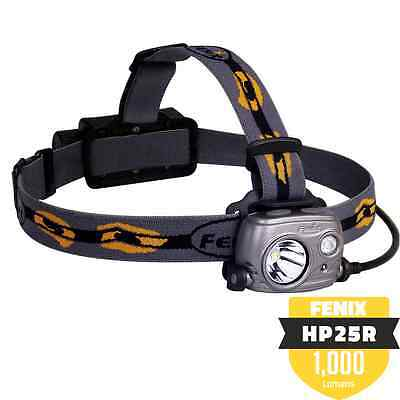 Genuine Fenix UK HP25R Rechargeable Headlamp - From UK Authorised Reseller
