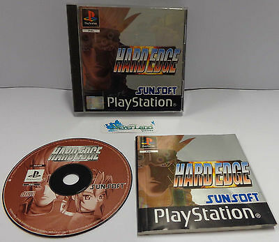 Console Gioco Game SONY Playstation PSOne PSX PS1 Play PAL SunSoft - HARD EDGE -