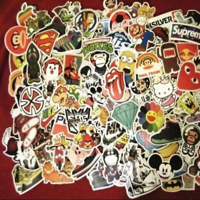 50pcs /lot Car Sticker Bomb Decal Vinyl Roll Skate Skateboard Laptop Luggage UP