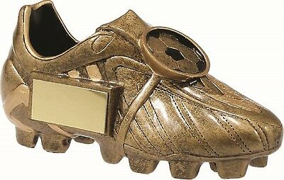 Soccer EPL Premier Boot Trophy 65mm FREE Engraving *** 8 IN STOCK ***