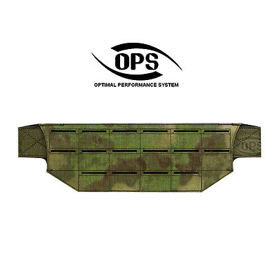 Ops/ur-Tactical Belt Mount Molle Panel In A-Tacs Fg