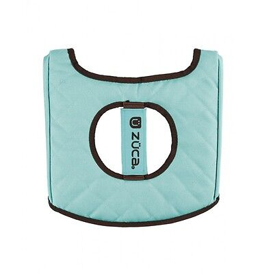 Zuca seat cushion turquoise/brown - NEW