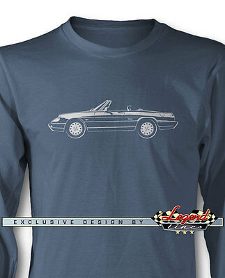 Alfa Romeo Spider Veloce 1990 - 1993 Long Sleeves T-Shirt - Multi Colors & Sizes