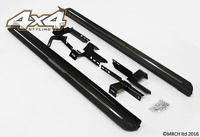 For Land Rover Discovery 3 & 4 Side Steps Running Boards Set - Type 2