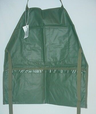 Lot of (5) US Military Construction Workers Mechanics APRONS BIBS Class 1 NEW