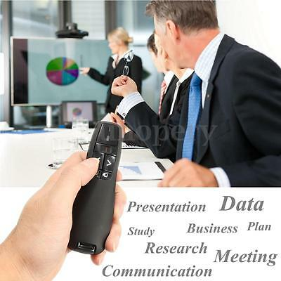 Wireless PowerPoint PPT Remote Control Laser Pointer Pen Presentation Meeting