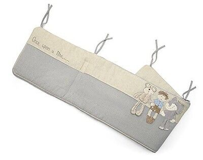 Bnwt Mamas And Papas Once Upon A Time Cot Bumper Boys Millie And Boris Rrp £56