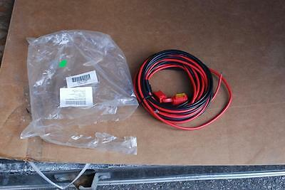 Motorola HKN4192B 20' 20A Fused Radio Power Cable to Battery (Etc) 10AWG 10 Each