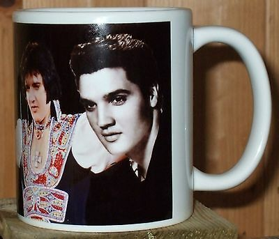 Elvis legend  tribute  mug