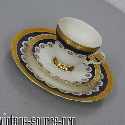 altes Winterling Royal Fine China Porzellan Sammelgedeck Kaffee Gedeck 50er J.