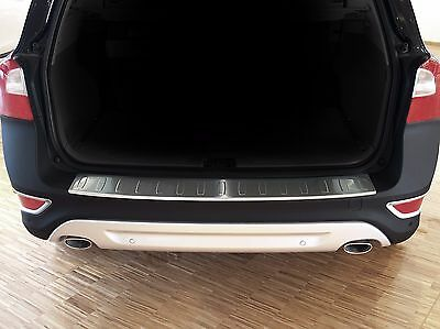 2008-2016 Volvo XC70 - Stainless Steel Rear Bumper Protector Guard