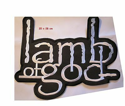 Lamb of God -  back patch  - FREE SHIPPING