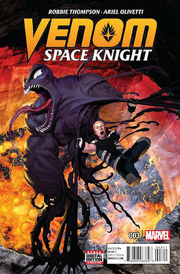 Venom Space Knight #3 Marvel Comics 2016