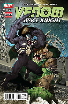 Venom Space Knight #4 Marvel Comics 2016