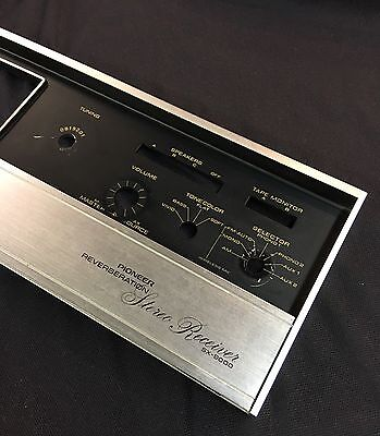 Pioneer SX9000 Reverberation Stereo Receiver Faceplate SX-9000