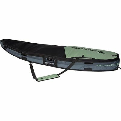 Creatures of Leisure Universal Double Surfboard Bag Slate Black 6ft 3in