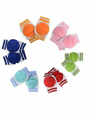 Yantu 6pairs Infant Toddler Baby Knee Pad Crawling Safety Protector