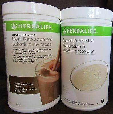 Herbalife Protein DRINK MIX 638g  & Protein Shake 750g Formula 1 - FREE SHIPPING