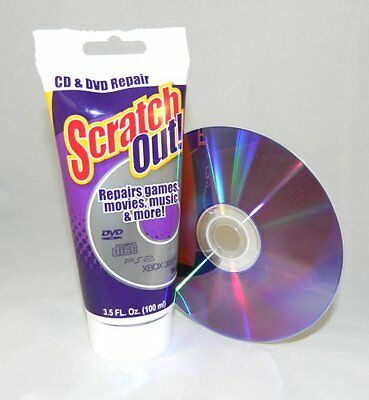 Agaia Scratch Out DVD Repair Tube