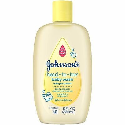 Head-To-Toe Baby Wash Gently Cleanses  Without Drying Johnson's Baby  9 oz.