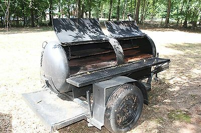 Trailer Mounted Grill/Smoker
