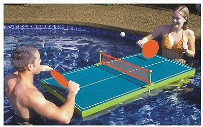 Floating Table Tennis Ping Pong Game Adjustable Position Outdoor Activity NEW
