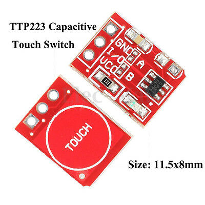 10 Pcs TTP223 Capacitive Touch Switch Button Self-Lock Module For Arduino  NEW