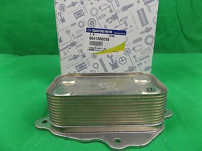 Genuine Ssangyong Actyon Sports Ute 2.0L Turbo Diesel All Model Oil Cooler Assy