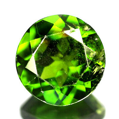 1.36 Cts Sparking Rare Russian Green Chrome Diopside Natural Gemstone