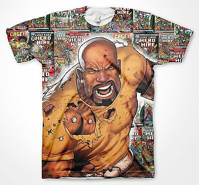 Luke Cage - Bullet Proof Hero Tee Shirt