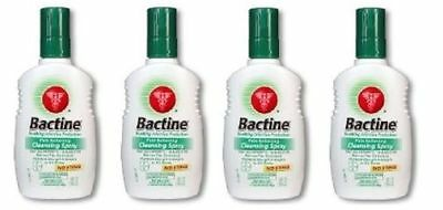 Bayer Bactine Pain Relieving Cleansing Spray 4 Bottle Pack