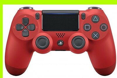 Dualshock4 Wireless Controller Magma Red Sony PS4 Japan CUH-ZCT2J11