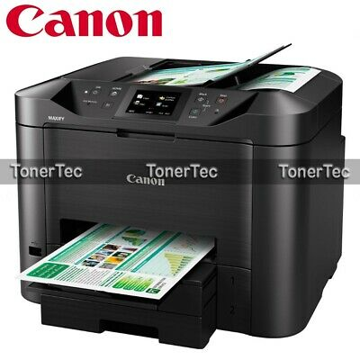 Canon MAXIFY MB5460 4-in-1 Wireless Inkjet Printer+Dual Tray+Duplex Print/Scan