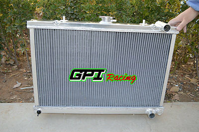 52mm New Aluminum Radiator for NISSAN SKYLINE R32 GTR GTS 1989-1993 90 91 92 MT