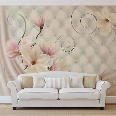 WALL MURAL PHOTO WALLPAPER XXL Flowers Pattern Abstract (3274WS)