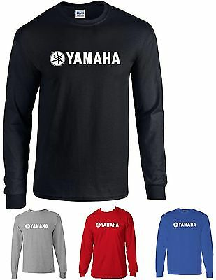 Yamaha t-shirt yz 85 125 250 450 600 R1 R6 motocycle Long SleeveT shirt tee