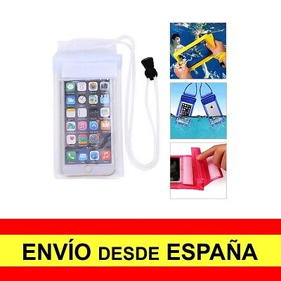 Funda Impermeable IPHONE 6 Estanca Protector Acuático Blanco a1162