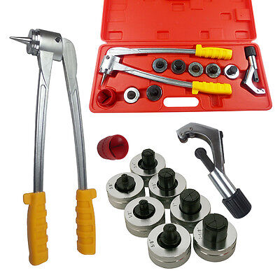 Tube Expander Tool Kit Pipe Expander Tube Cutter Plumbing Air Conditioner AU HOT