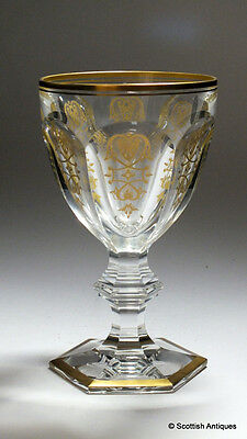 Large Baccarat Empire Period Wine or Water Glass