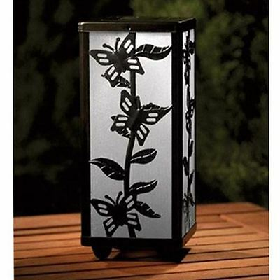 Butterfly Solar Table Lantern  4 Colour Changing or White Light LED