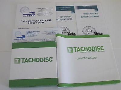 Analogue Tachograph Drivers Pack !!!Special offer!!!