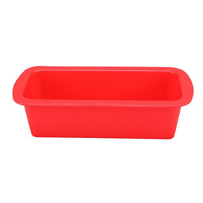 Silicone Loaf Bread  Mould Non Stick Bread Baking Cake Tin Red 8427
