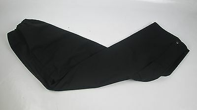 Police Black Gore-Tex Overtrousers Waterproof Breathable Fishing Camping X-Small