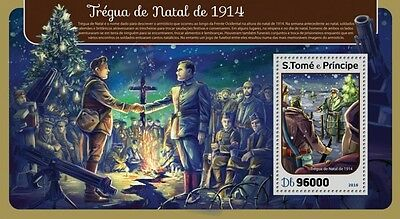 Z08 IMPERFORATED ST16416b Sao Tome and Principe 2016 Christmas truce MNH