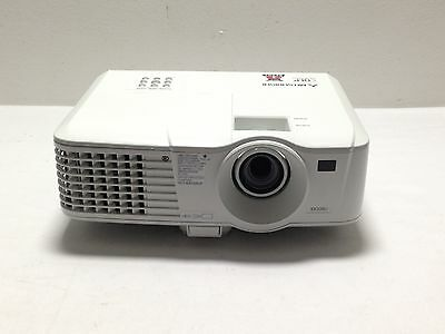 MITSUBISHI EX320U LCD PROJECTOR USED 2701h LAMP HOURS PIXELATED SPOTS | REF: S66