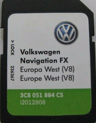 vw seat skoda sat nav navigation rns 310 sd card map 2016. Black Bedroom Furniture Sets. Home Design Ideas