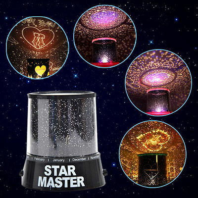 Hot! LED Starry Night Sky Projector Lamp Romantic Warm  fashion  gift  Adornment