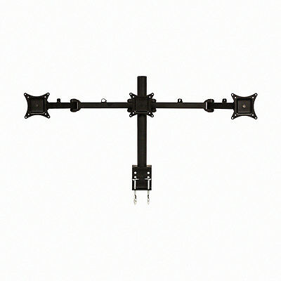 Triple Monitor Arms Full Motion Desk Mount Stand for 3 LCD Screens up to 27�