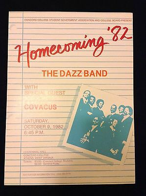 The Dazz Band / Covacus Original Concert Poster 1982 - Mint Condition